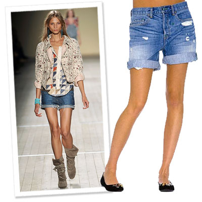 Turn Your Boyfriend Jeans Into Boyfriend Shorts | InStyle.com