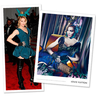 Style Deja Vu: Madonna's Louis Vuitton Rabbit Ears