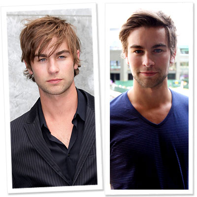 Chace Crawford Gets a Mane Makeover