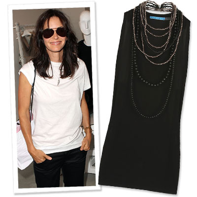 Courteney Cox Arquette Pays Retail for a Great Cause - What's Right Now