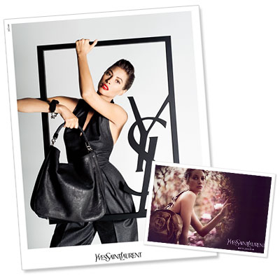Lusting For Christy Turlington's YSL Bag All Over Again
