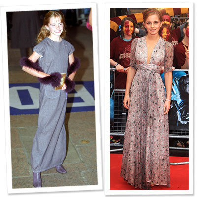 Emma Watson - Ossie Clark - Harry Potter - What's Right Now - Fashion News
