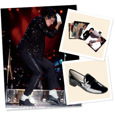 Michael Jackson -  CNN - Facebook - Repetto