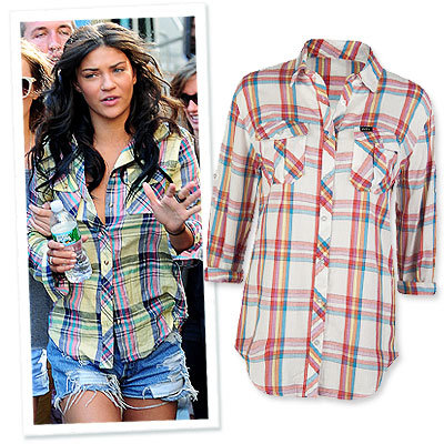Jessica Szohr - Boyfriend Tees - Trends - Fashion News