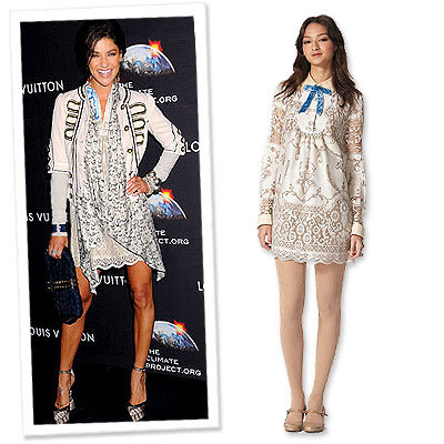 What's Right Now - Jessica Szohr in Anna Sui for Target - Gossip Girl
