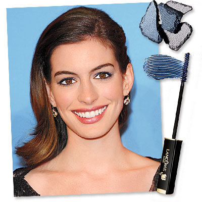 Anna Hathaway - August issue - steel-blue eyes