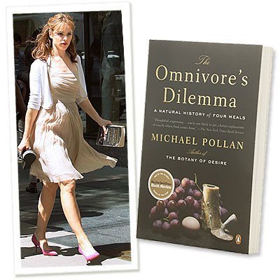 Rachel McAdams Digs Into The Omnivore's Dilemma