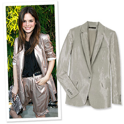 We're Mad About…Metallic Blazers