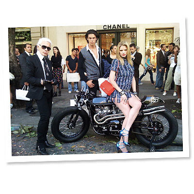 Fantasy Item: A Chanel Motorcycle