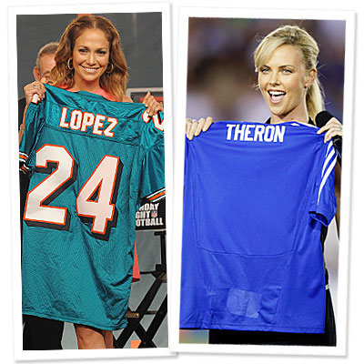 Jennifer Lopez - Charlize Theron - jerseys