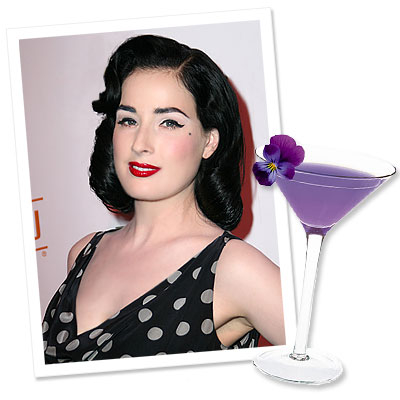 What's Right Now - Dita Von Teese's 'Cointreauversial' Cocktail
