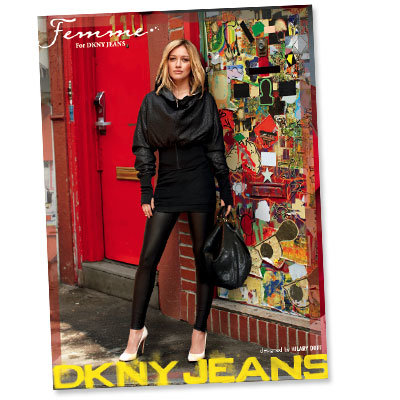 Hilary Duff Hits The Street In DKNY Jeans