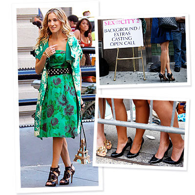 What's Right Now - Sex and The City Wannabes Get Carrie's Style on a Shoestring