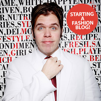 InStyle Exclusive! Perez Hilton Dishes About His New Fashion Blog