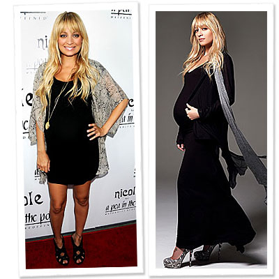 Nicole Richie - Maternity Style - A Pea in the Pod