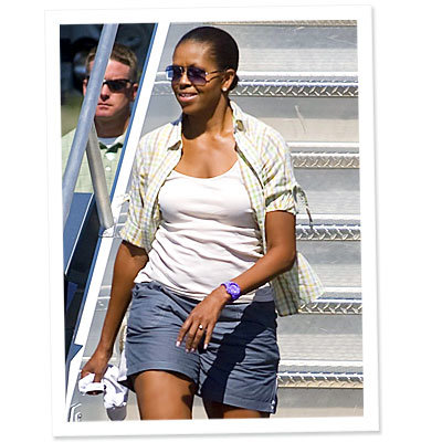 What Do You Think of Michelle Obama's Shorts?