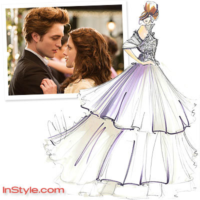 Fashion Designers Sketch Bella's Wedding Dress