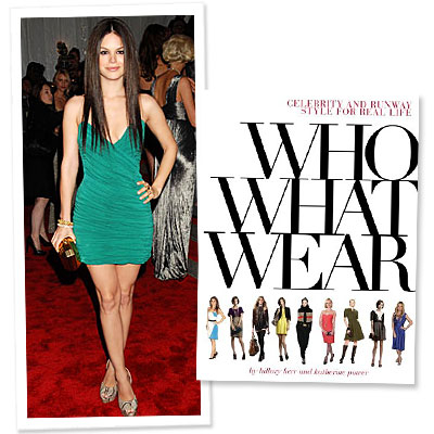 Book To Buy: Who What Wear: Celebrity and Runway Style For Real Life