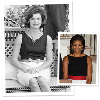 Michelle Obama  - Jackie O.