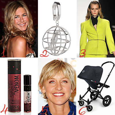 Jennifer Aniston - Julianne Moore - QVC - Narciso Rodriguez - Twilight Beauty - Ellen DeGeneres - American Idol - Bugaboo