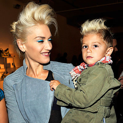 Fashion Week Moment: Mommy and Me Mohawks