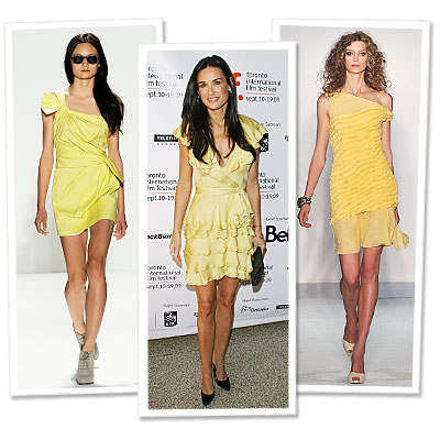 Spring Runway Trend to Try Now: Yellow