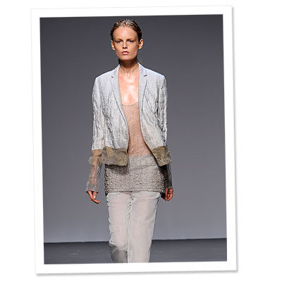 Runway Look of the Day: Calvin Klein