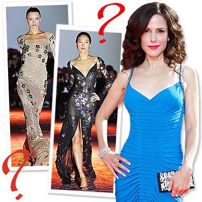 Mary-Louise Parker Dishes on her Emmys Gown
