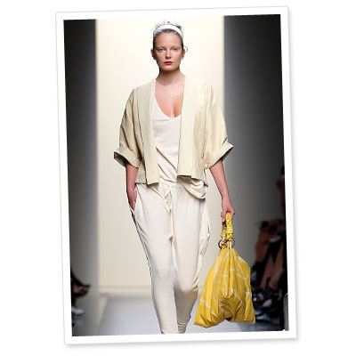 Runway Look of the Day: Bottega Veneta