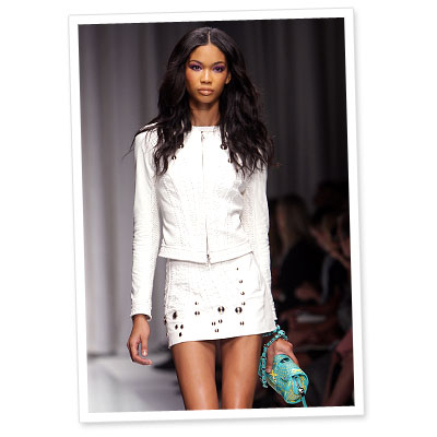 Runway Look of the Day: Versace