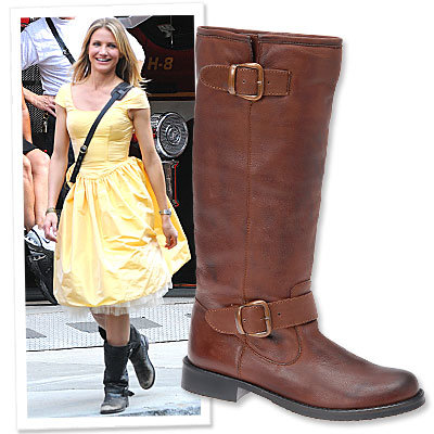 Style on Set: Cameron Diaz's Country-Cute Aldo Boots