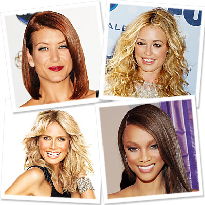 Kate Walsh - Cat Deeley - Tyra Banks - Heidi Klum