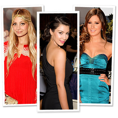 Nicole Richie - Kim Kardashian - Ashley Tisdale