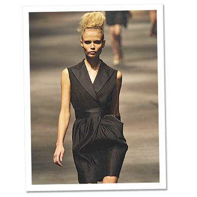 Runway Look of the Day: Lanvin
