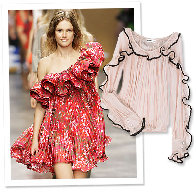 Spring Runway Trend to Try Now: Go Girly