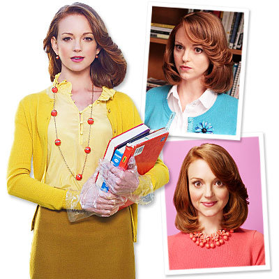 EXCLUSIVE: Glee's Jayma Mays on Gleek-Chic Style!