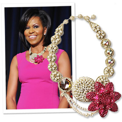 Found! Michelle Obama's Unforgettable Necklace