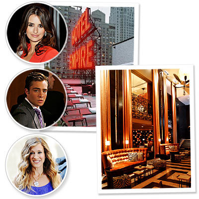WRN: The Empire Hotel is New York City's Newest On-Screen Hot Spot