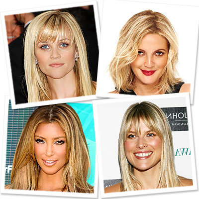 Try on Hollywood's Hottest Blonds!