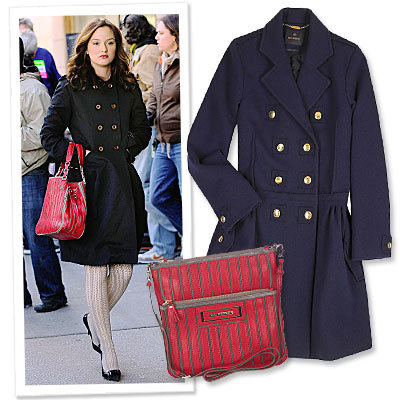 Leighton Meester - Anya Hindmarch - Mulberry