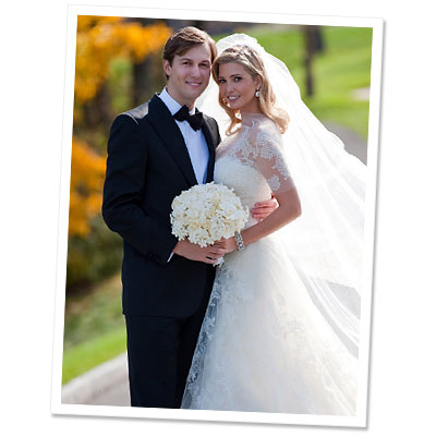 Ivanka Trump - Jared Kushner - wedding