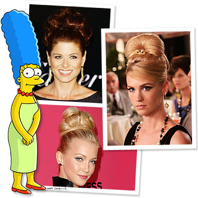 Marge Simpson is Hollywood's Newest Hair Icon