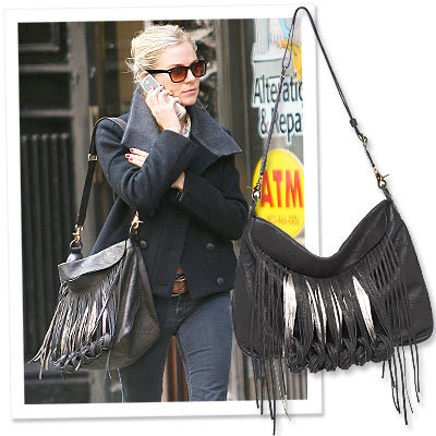 We're Loving Sienna Miller's Sophisticated Boho Bag