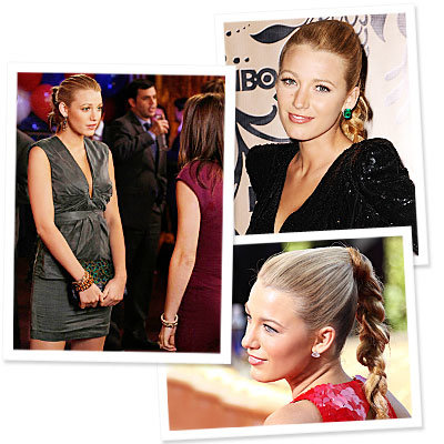 Blake Lively  - Gossip Girl - Emmy Awards - braid