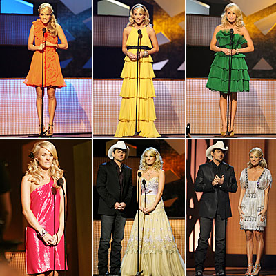 Carrie Underwood: 1 Star, 9 Dresses!