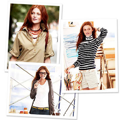 Lands' End Canvas Simplifies Style