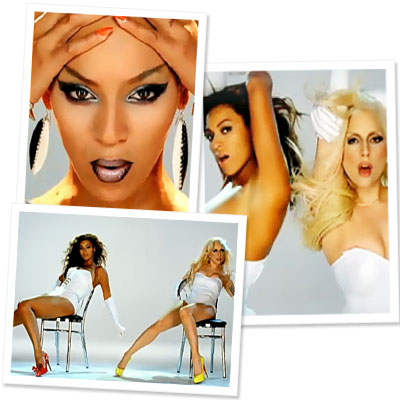 """Diva Duet: Beyonce and Lady Gaga in """"Video Phone"""""""