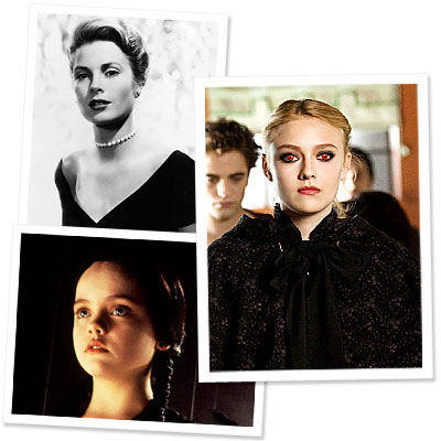 Dakota Fanning - New Moon - Grace Kelly - Wednesday Addams
