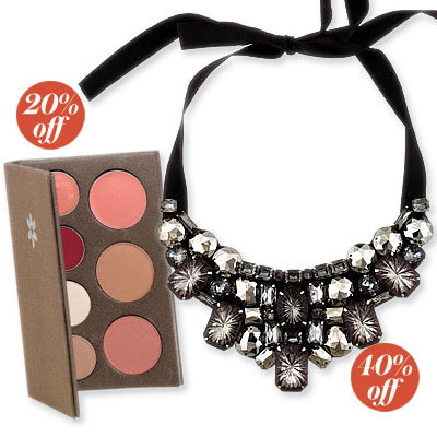 Up to 50% Off Bold Baubles and Beauty Products