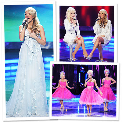 Carrie Underwood - Dolly Parton - Kristen Chenoweth - Christina Applegate - Holiday special